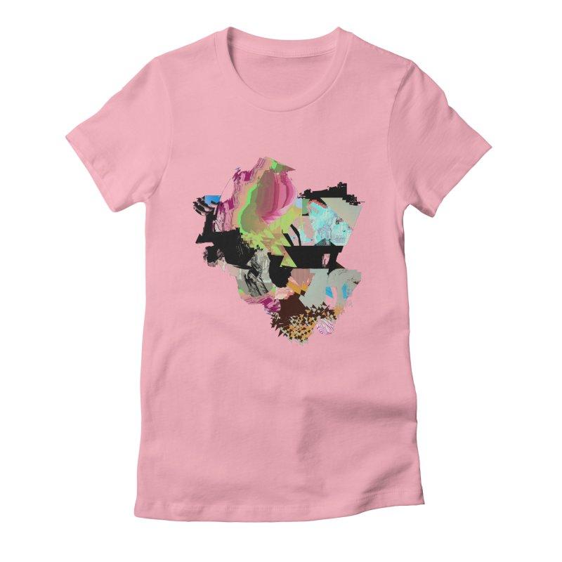 FRAM3BUFFER01 Women's Fitted T-Shirt by PIXLPA Artist Shop