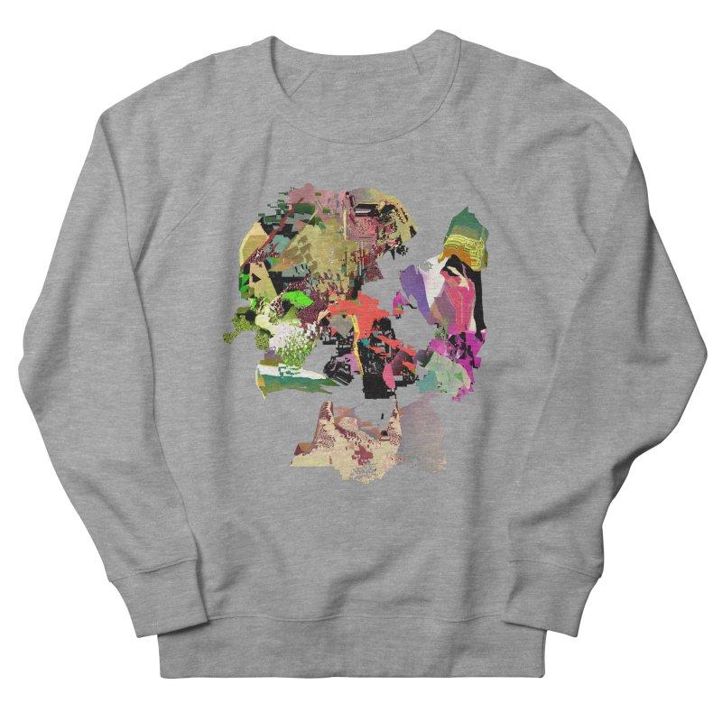 FRAM3BUFFER03 in Men's Sweatshirt Heather Graphite by PIXLPA Artist Shop