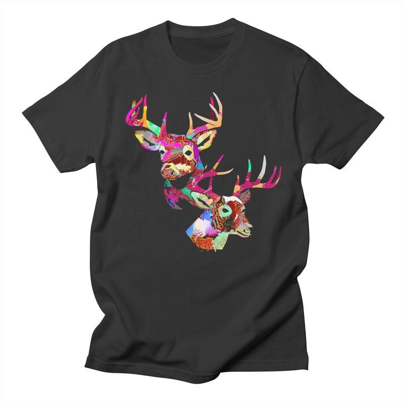 Yes Deer Women's Regular Unisex T-Shirt by PIXLPA Artist Shop