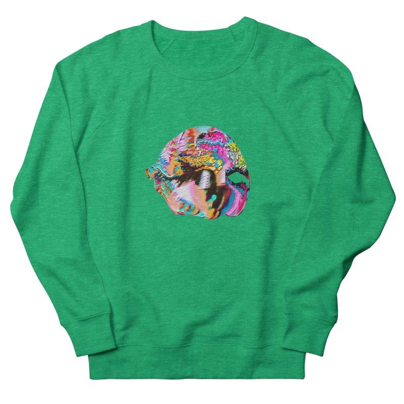 SPHERE 1 Women's French Terry Sweatshirt by PIXLPA Artist Shop
