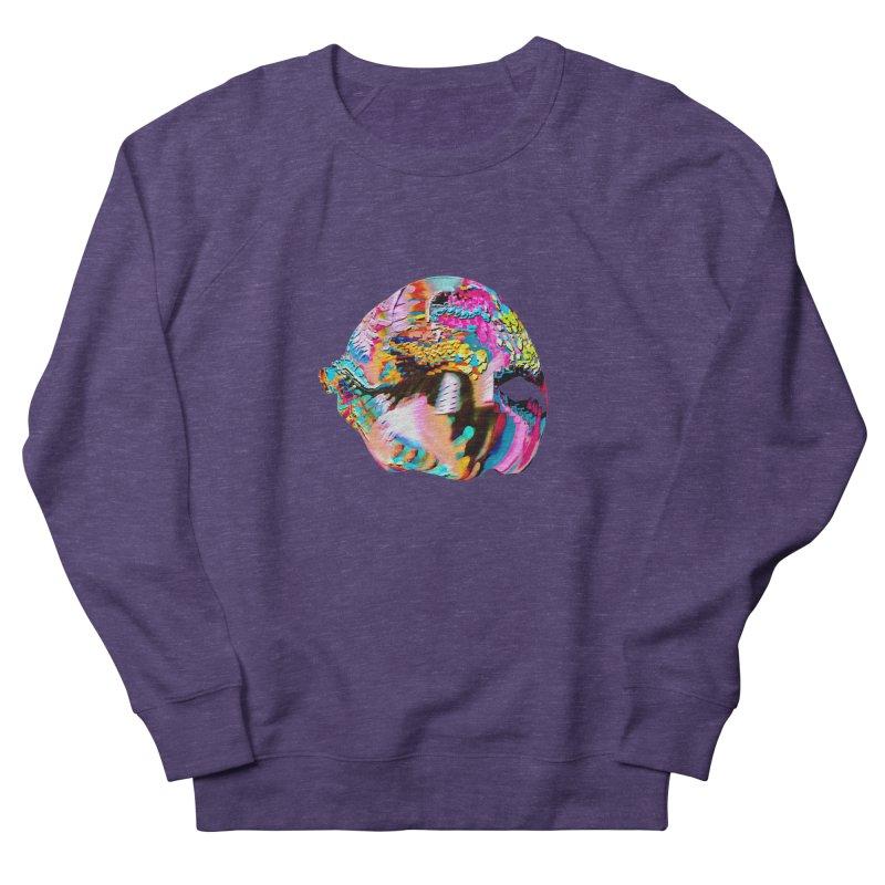 SPHERE 1 Men's French Terry Sweatshirt by PIXLPA Artist Shop