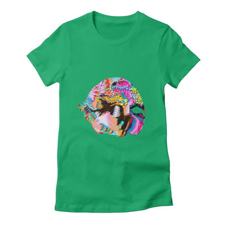 SPHERE 1 Women's Fitted T-Shirt by PIXLPA Artist Shop