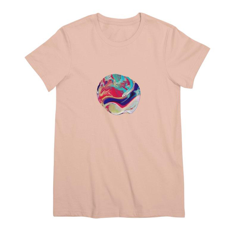 SPHERE 2 Women's Premium T-Shirt by PIXLPA Artist Shop