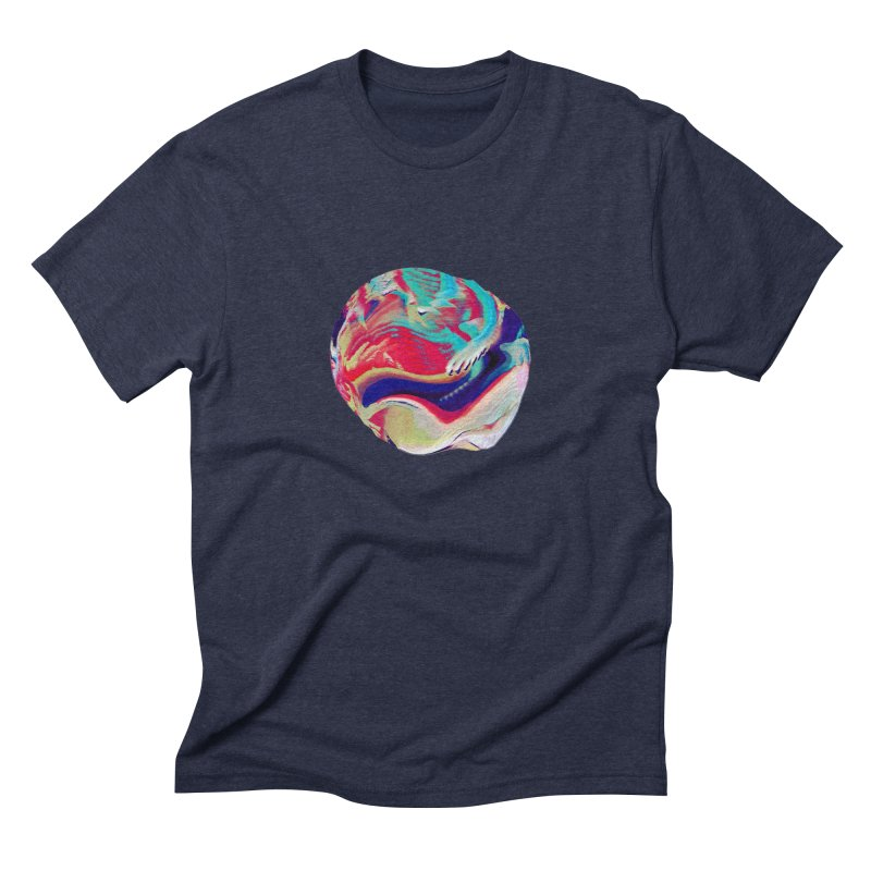 SPHERE 2 Men's Triblend T-Shirt by PIXLPA Artist Shop