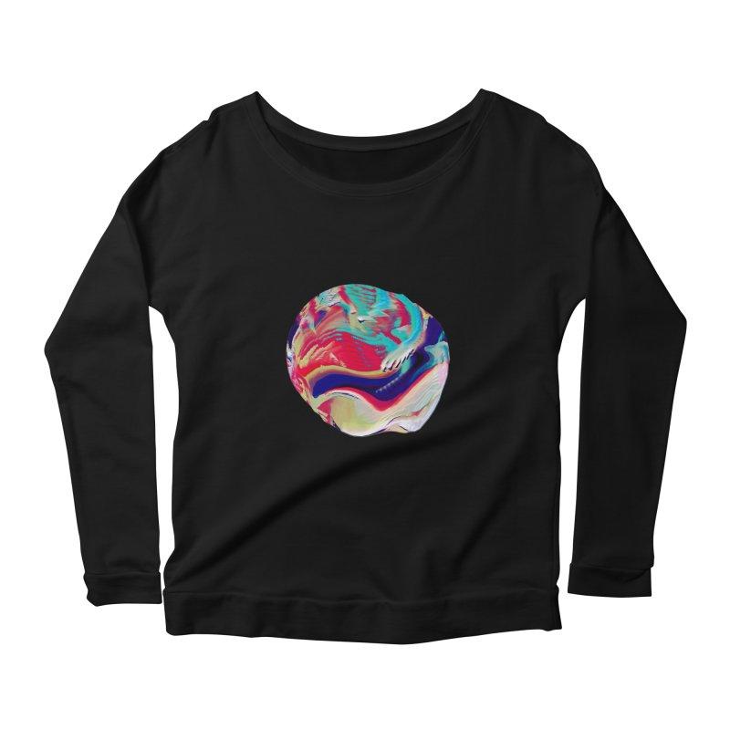 SPHERE 2 Women's Scoop Neck Longsleeve T-Shirt by PIXLPA Artist Shop