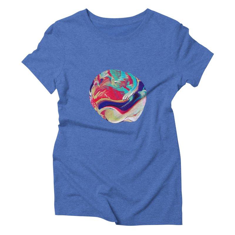 SPHERE 2 Women's Triblend T-Shirt by PIXLPA Artist Shop