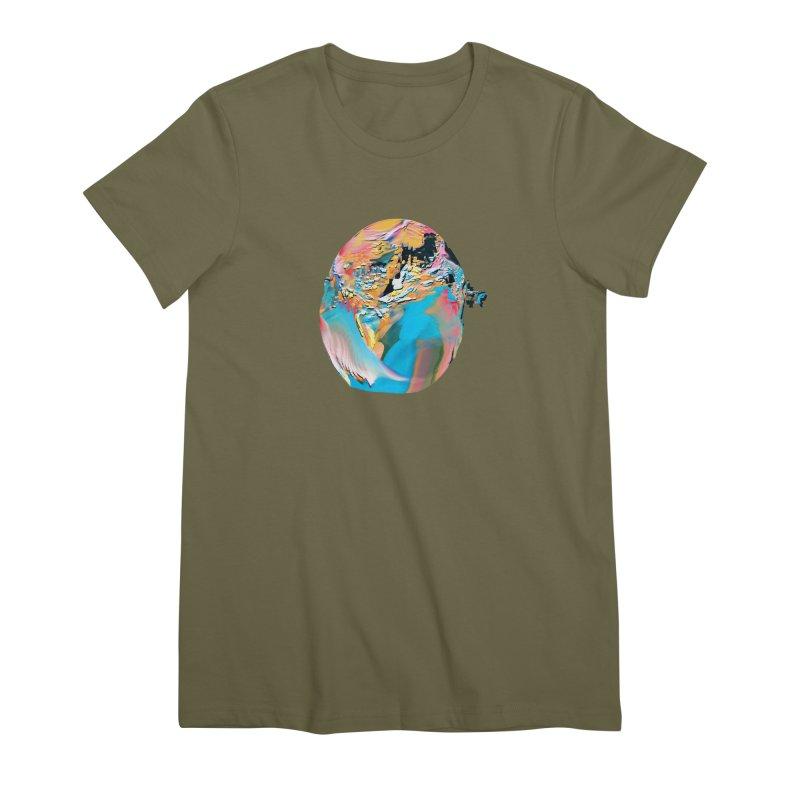 SPHERE 3 Women's Premium T-Shirt by PIXLPA Artist Shop
