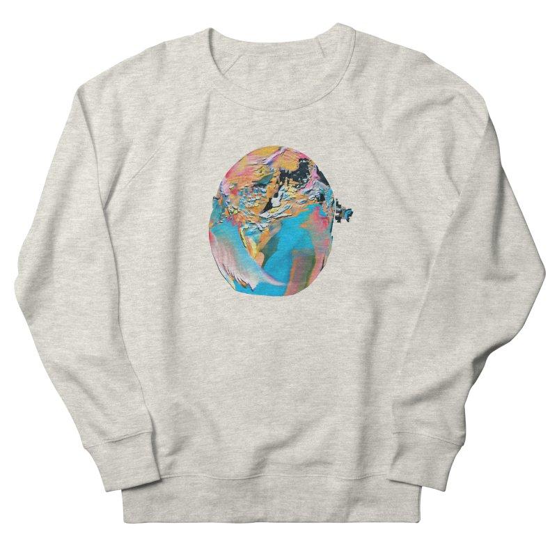 SPHERE 3 Men's French Terry Sweatshirt by PIXLPA Artist Shop
