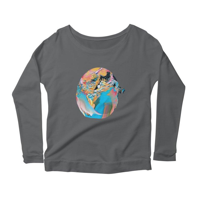 SPHERE 3 Women's Scoop Neck Longsleeve T-Shirt by PIXLPA Artist Shop