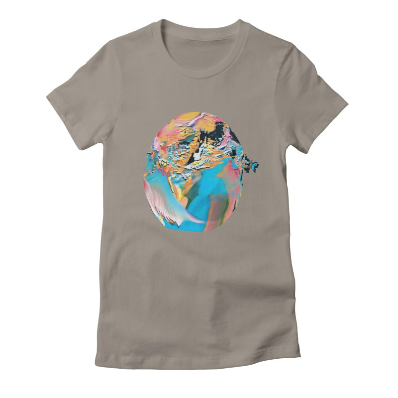 SPHERE 3 Women's Fitted T-Shirt by PIXLPA Artist Shop