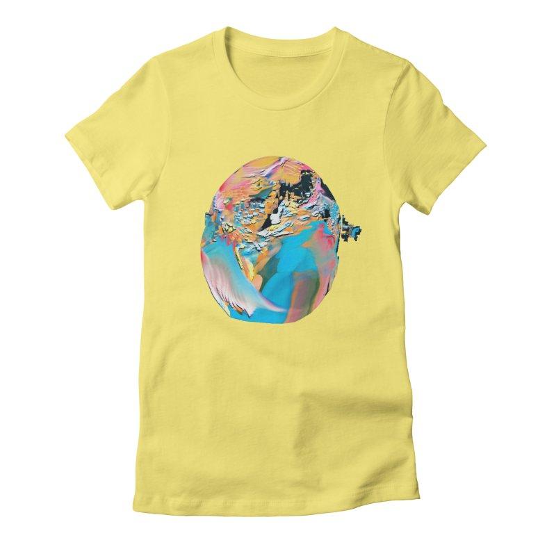 SPHERE 3 Women's Fitted T-Shirt by PIXLPA Artist Shop