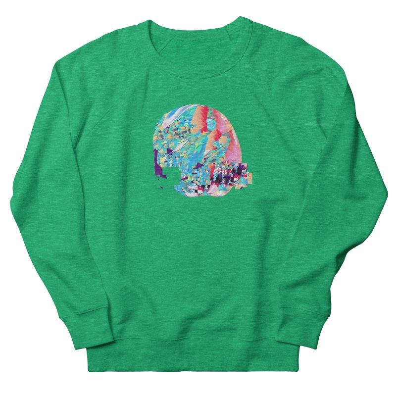 SPHERE 4 Women's French Terry Sweatshirt by PIXLPA Artist Shop