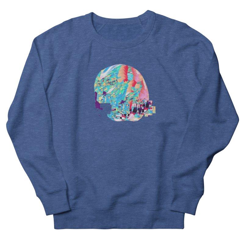 SPHERE 4 Men's French Terry Sweatshirt by PIXLPA Artist Shop