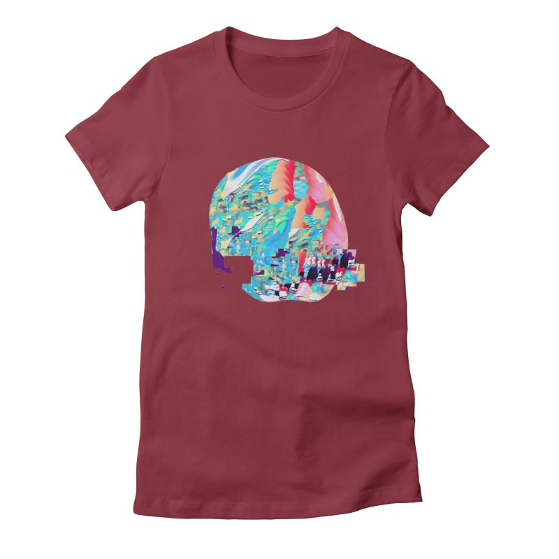 SPHERE 4 Women's Fitted T-Shirt by PIXLPA Artist Shop
