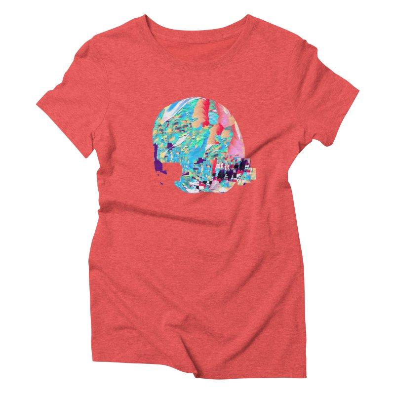SPHERE 4 Women's Triblend T-Shirt by PIXLPA Artist Shop