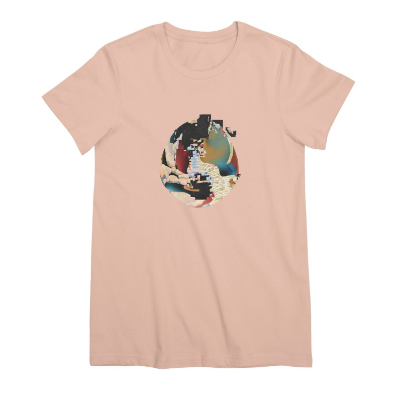 SPHERE 5 Women's Premium T-Shirt by PIXLPA Artist Shop