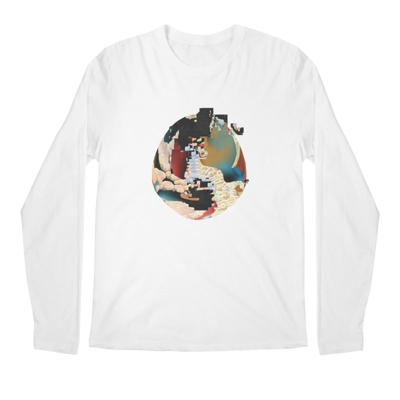 SPHERE 5 Men's Regular Longsleeve T-Shirt by PIXLPA Artist Shop
