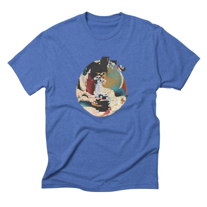 SPHERE 5 Men's Triblend T-Shirt by PIXLPA Artist Shop