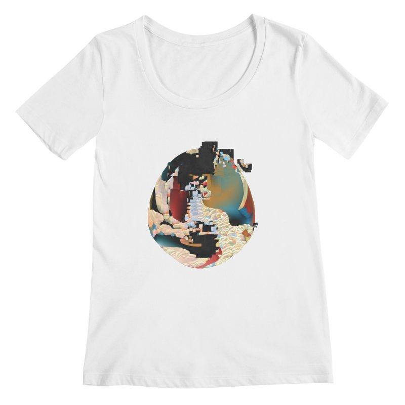 SPHERE 5 Women's Regular Scoop Neck by PIXLPA Artist Shop