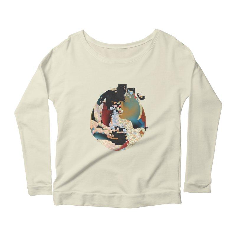 SPHERE 5 Women's Scoop Neck Longsleeve T-Shirt by PIXLPA Artist Shop