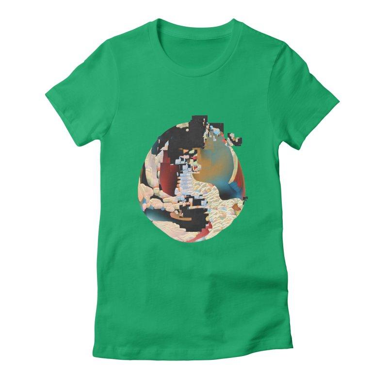 SPHERE 5 Women's Fitted T-Shirt by PIXLPA Artist Shop