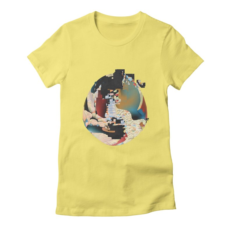 SPHERE 5 Women's Fitted T-Shirt by PIXLPA Artist Shop