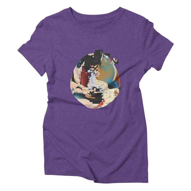 SPHERE 5 Women's Triblend T-Shirt by PIXLPA Artist Shop