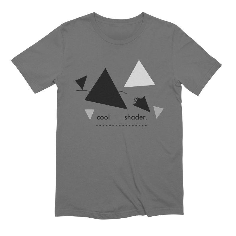 cool   shader. Men's T-Shirt by PIXLPA Artist Shop