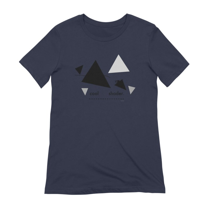 cool   shader. Women's Extra Soft T-Shirt by PIXLPA Artist Shop
