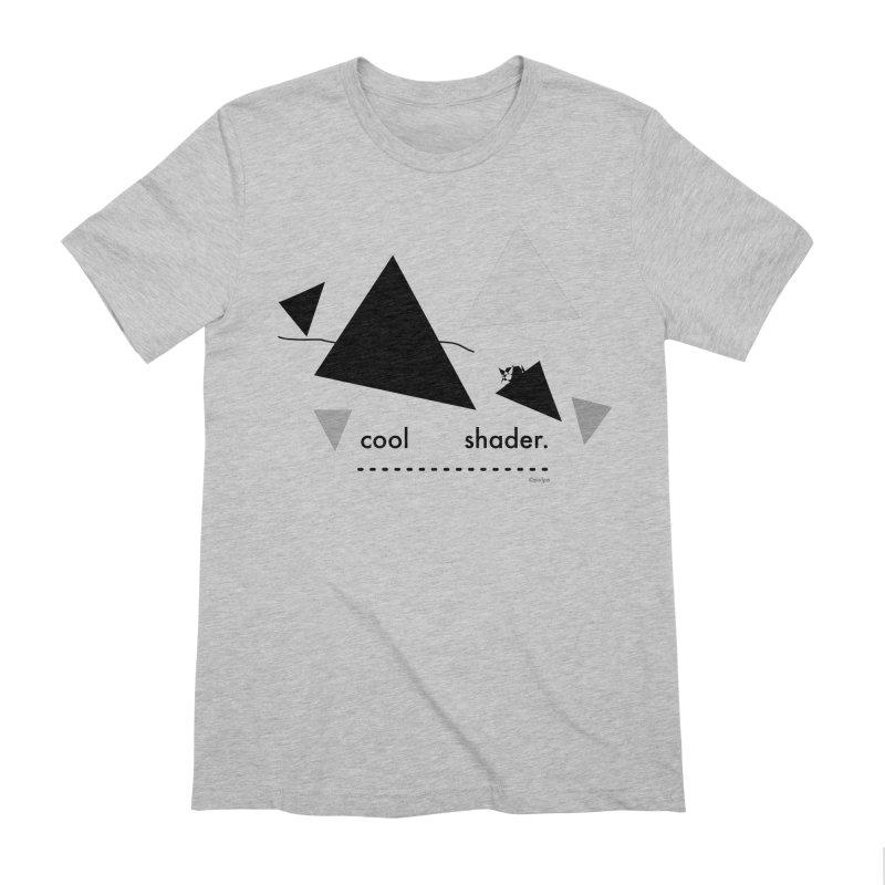 cool   shader. Men's Extra Soft T-Shirt by PIXLPA Artist Shop