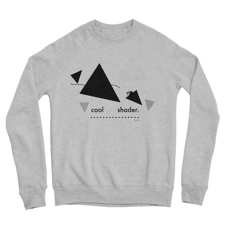 cool   shader. Men's Sponge Fleece Sweatshirt by PIXLPA Artist Shop