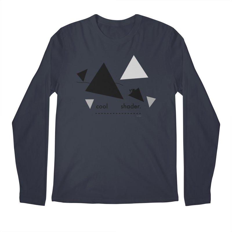 cool   shader. Men's Regular Longsleeve T-Shirt by PIXLPA Artist Shop