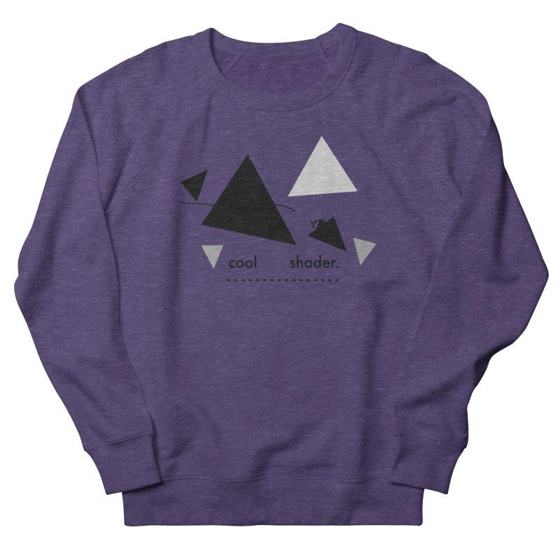 cool   shader. Men's French Terry Sweatshirt by PIXLPA Artist Shop