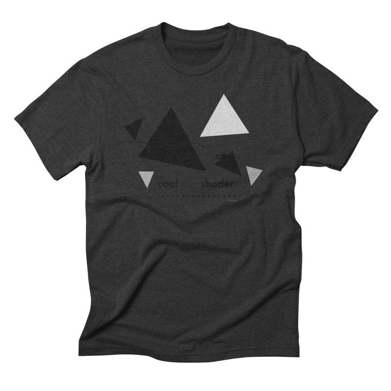 cool   shader. Men's Triblend T-Shirt by PIXLPA Artist Shop