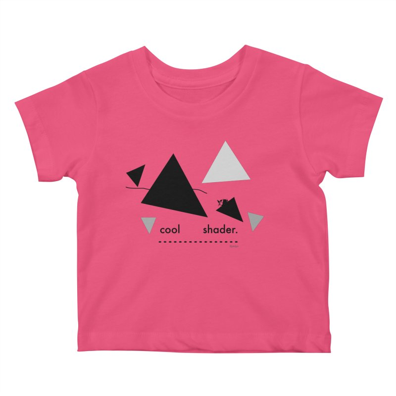 cool   shader. Kids Baby T-Shirt by PIXLPA Artist Shop