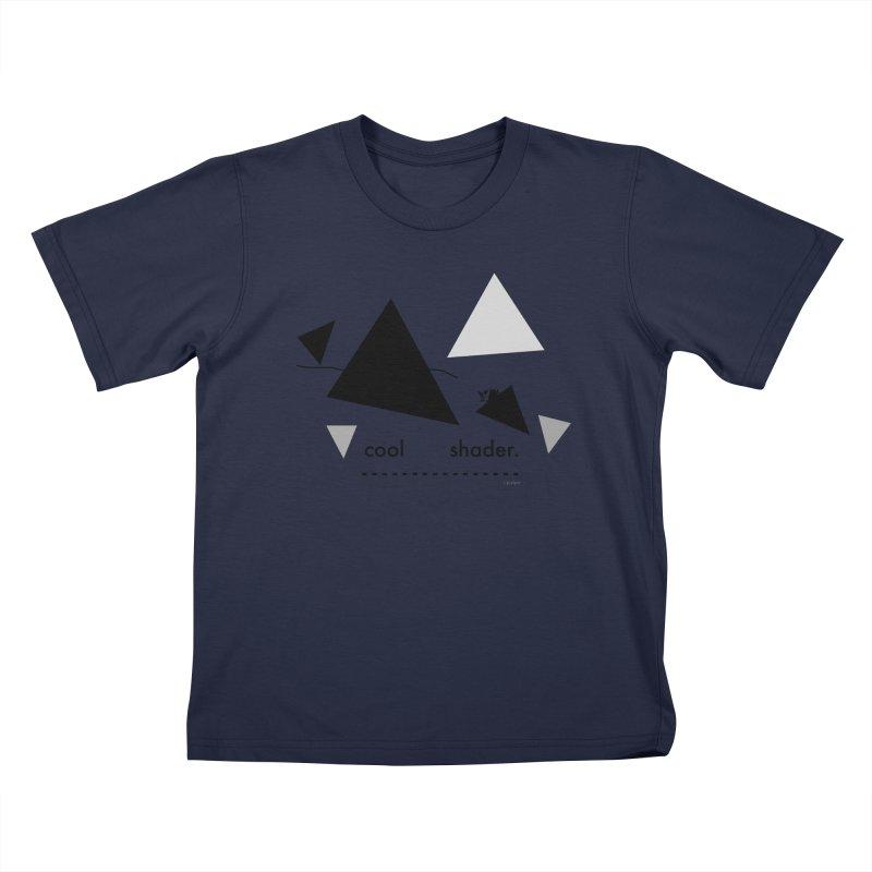 cool   shader. Kids T-Shirt by PIXLPA Artist Shop