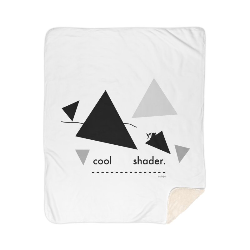 cool   shader. Home Sherpa Blanket Blanket by PIXLPA Artist Shop