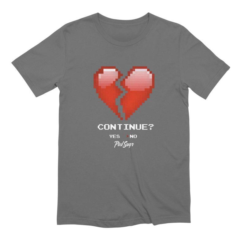 Continue? Men's T-Shirt by Pixlsugr!