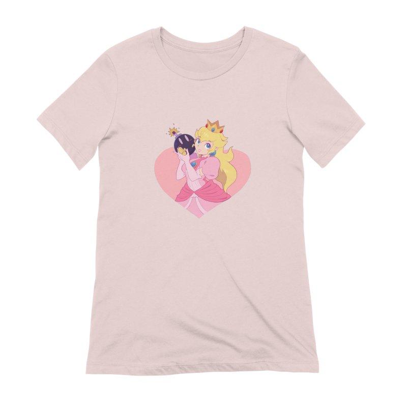 Peach Bomber Women's Extra Soft T-Shirt by Pixlsugr!