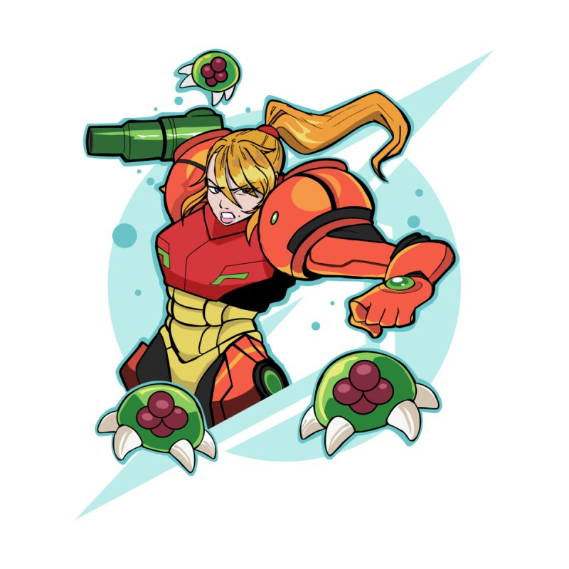 "Samus - ""I am NO MAN!"" by Pixlsugr!"