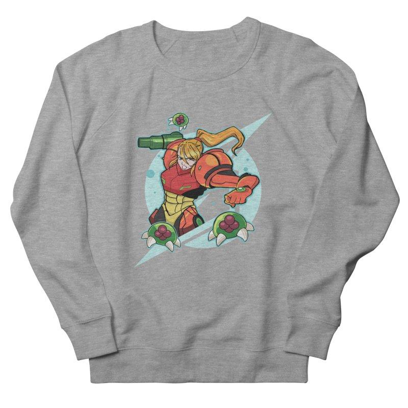 "Samus - ""I am NO MAN!"" Women's French Terry Sweatshirt by Pixlsugr!"