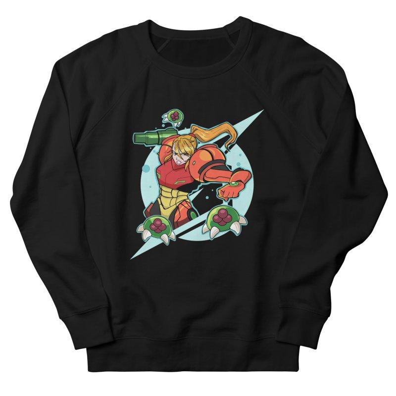 "Samus - ""I am NO MAN!"" Men's French Terry Sweatshirt by Pixlsugr!"
