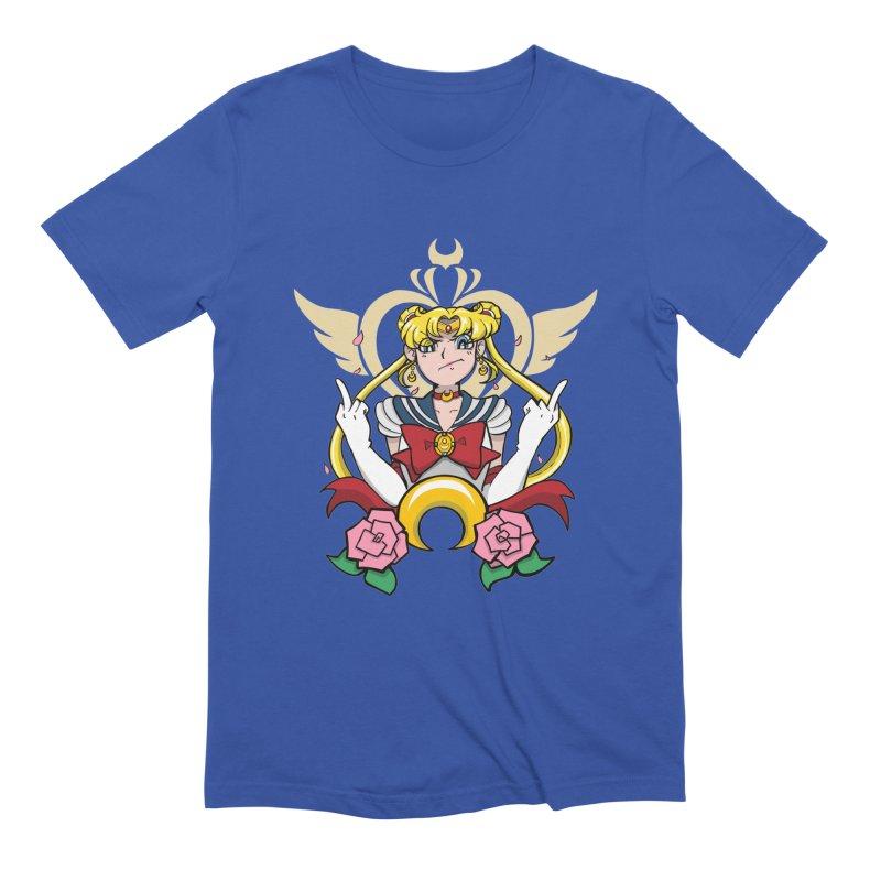 Moon Power Men's T-Shirt by Pixlsugr!