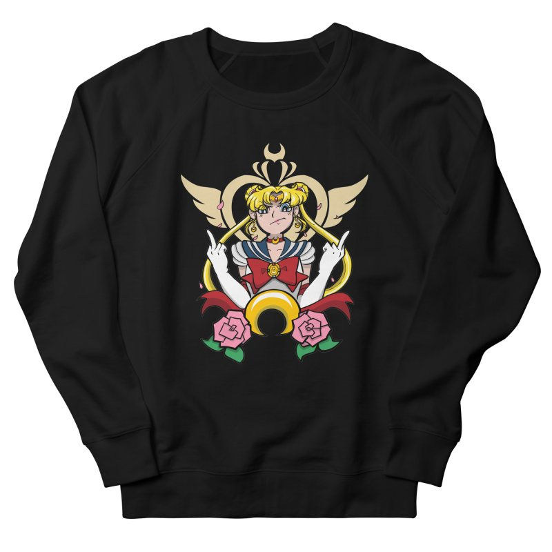 Moon Power Men's French Terry Sweatshirt by Pixlsugr!