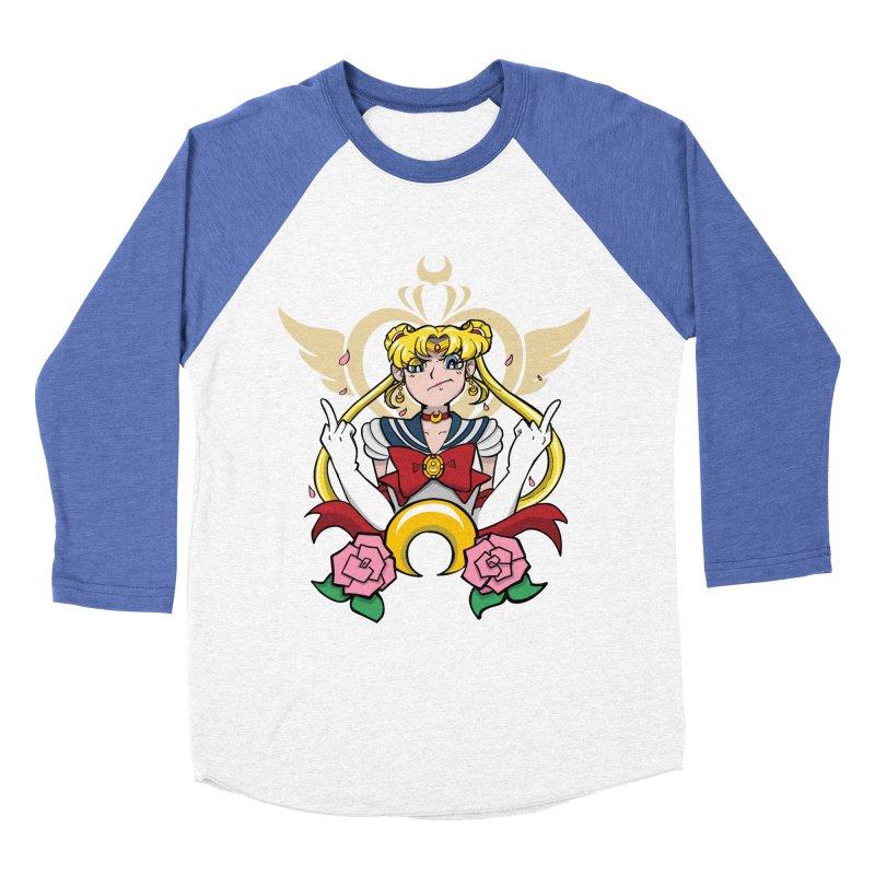 Moon Power Men's Baseball Triblend Longsleeve T-Shirt by Pixlsugr!