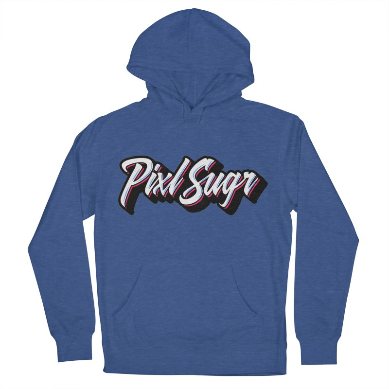 PixlSugr Signature Logo Men's French Terry Pullover Hoody by Pixlsugr!