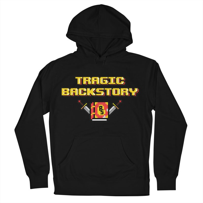 Tragic Backstory Men's French Terry Pullover Hoody by Pixlsugr!