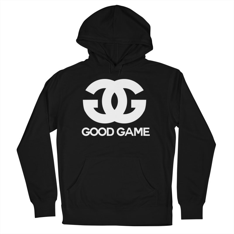 """GG"" Good Game Men's French Terry Pullover Hoody by Pixlsugr!"