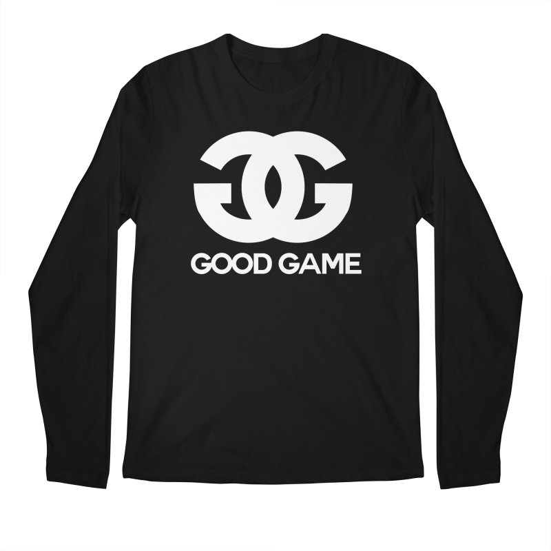 """GG"" Good Game Men's Regular Longsleeve T-Shirt by Pixlsugr!"