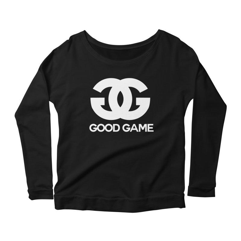 """""""GG"""" Good Game Women's Scoop Neck Longsleeve T-Shirt by Pixlsugr!"""